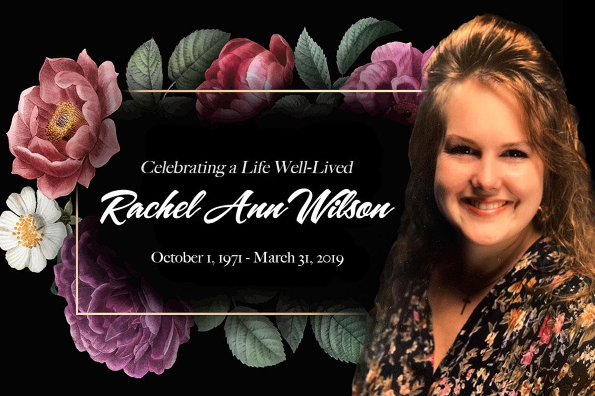 Honoring Rachel
